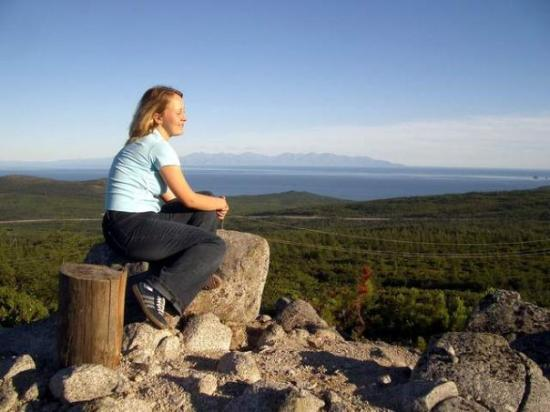 Magadan, Russland: Our sea, our mountains... the photo was taken in 2005