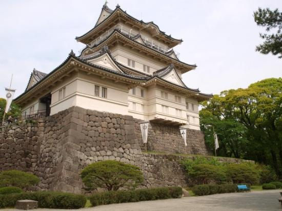 Odawara castle, a bit less impressive if you consider that it's a 1960's replica. Almost all the