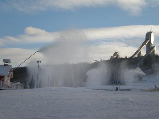 WinSport: snow guns