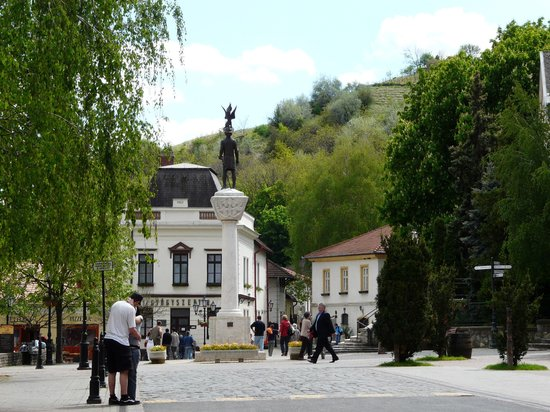 Tokaj-Main Square