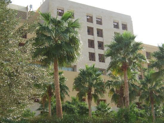 Kempinski Hotel Ishtar Dead Sea: Hanging gardens