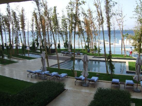 Kempinski Hotel Aqaba Red Sea: Bamboo forest pool