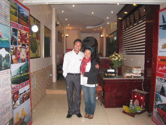 Viet Fun 3 Hotel : Zoom in front of Viet Fun 3