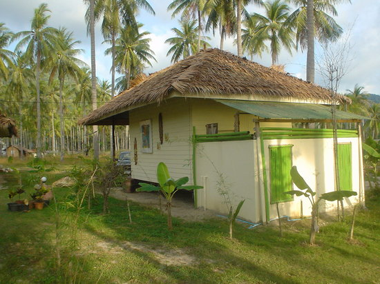 Kamala CocoHut: Typical bungalows, comfortable