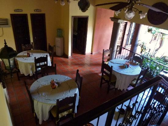 Hotel Casagrande: Dining Area
