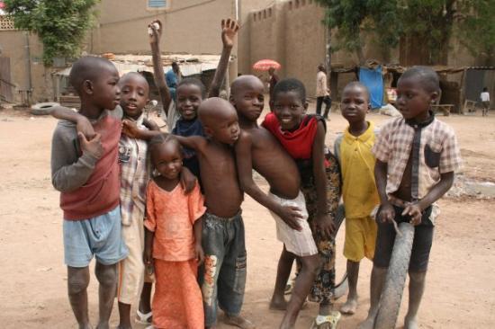 Foto de Bamako city centre, market