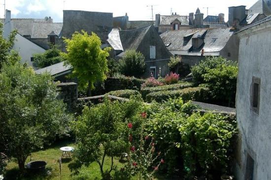 Le Croisic, Prancis: Côtes de Bretagne, vue intérieure du Croisic