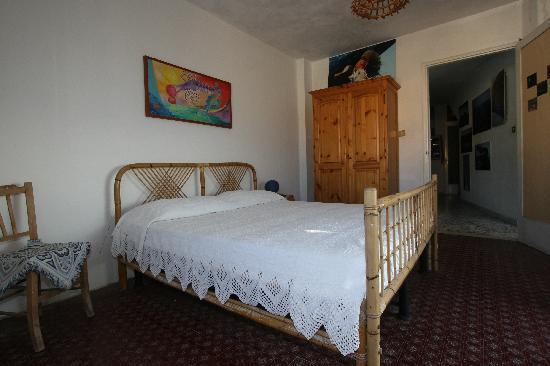 La Praia di Rinella: double room with access to the terrasse