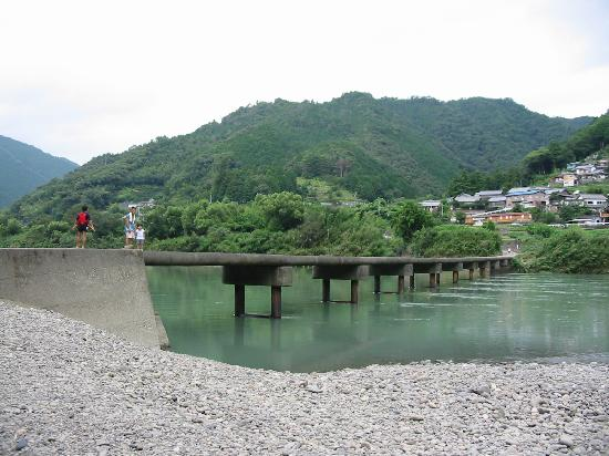 Shimanto River : 沈下橋