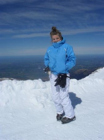 Brinkley Village Resort : me at the top of mt hutt, beautiful
