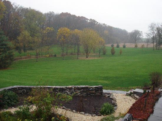 Pheasant Run Farm: la vista dalla casa