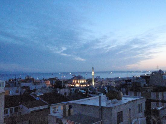 هوتل موزايك: Vue du toit de l'hôtel