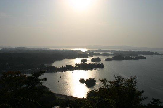 Higashimatsushima, اليابان: 展望台からの眺め