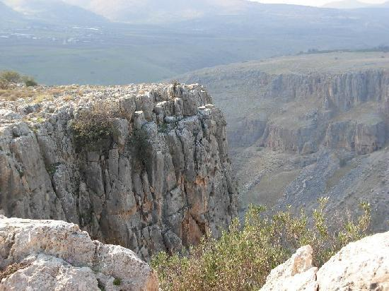 Ron Beach Hotel: Arbel Cliffs - near the hotel