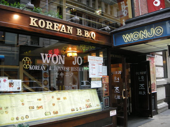 New Wonjo Restaurant : Won Jo in NYC's Korean town
