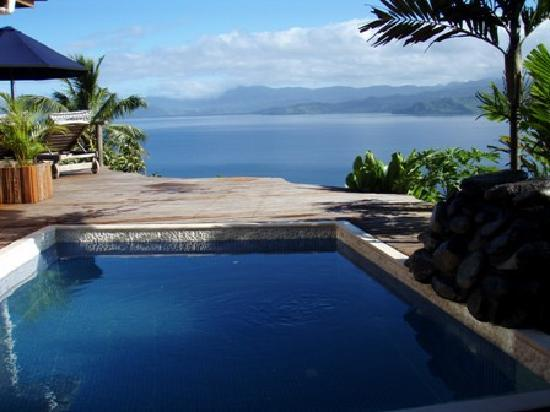 Naveria Heights Lodge: Plunge pool