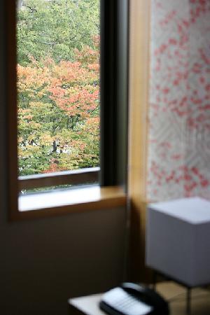 Hyatt Regency Kyoto: 部屋から見たところ