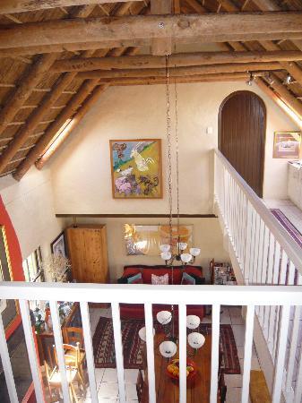ah! Guest House : Blick von der Galerie