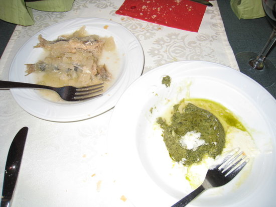Aciugheta: Sardines & Spinach Flan