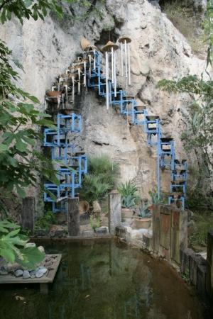 Le jardin des fontaines p trifiantes la s ne photo de la - Le jardin des fontaines petrifiantes ...