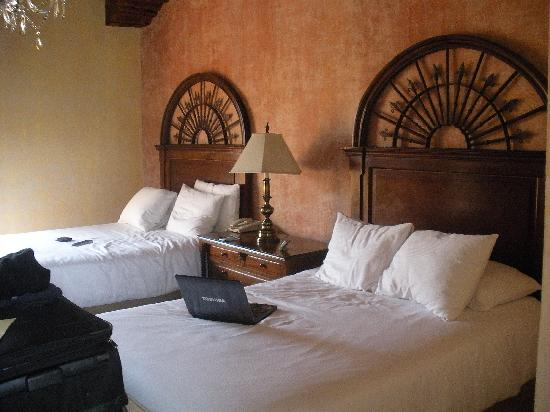 Palacio de Doña Leonor: our room