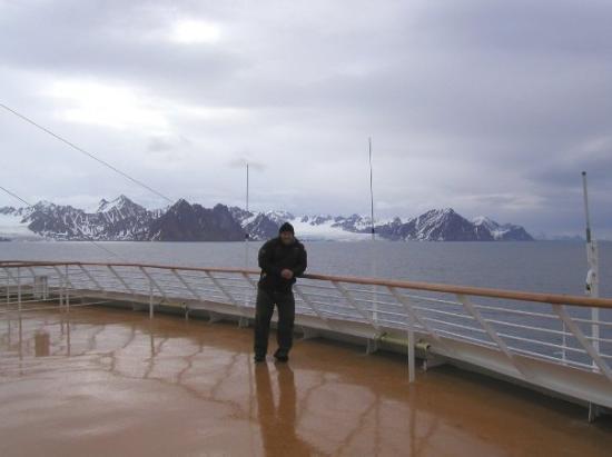 Steve In Spitzbergen Svalbard The Furthest Norwegian