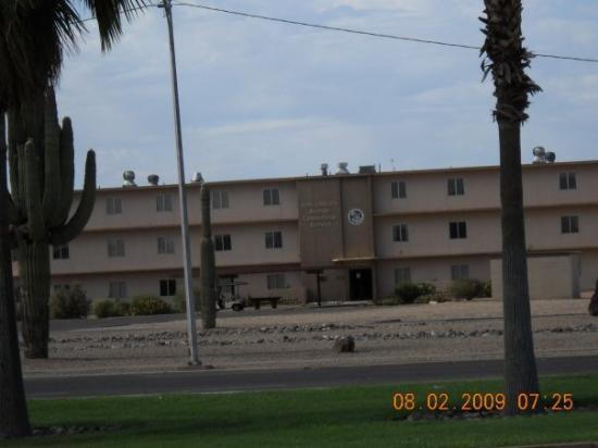 Goodyear, AZ: Residences on base.
