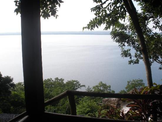 La Lancha Lodge: our view