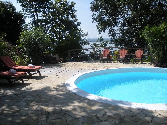 La Lancha Lodge: the pool