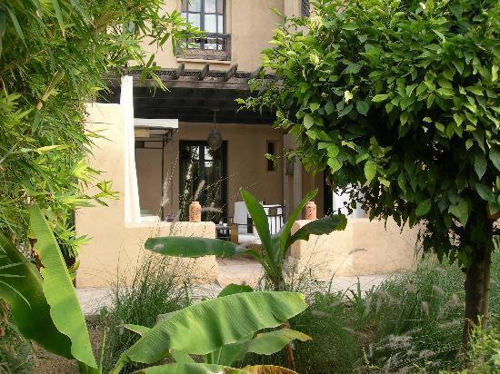 Club Med Marrakech le Riad : Dommage que nous n'avons pas pu profiter du jardin, pas de place !!!