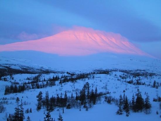 Bilde fra Rjukan