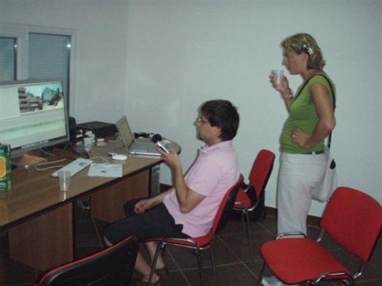 Tanja Kanceljak and Stefan Reiss in the editing room. - Picture of ...