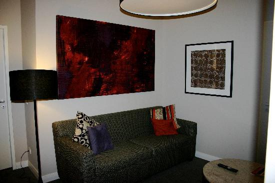 Adina Apartment Hotel Berlin Checkpoint Charlie: Living area