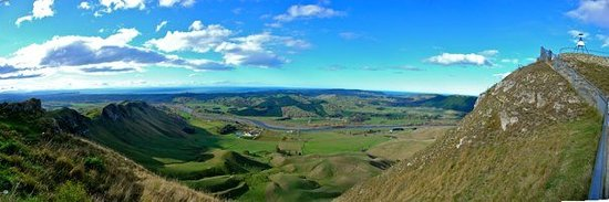 Hastings, New Zealand: View from Te Mata Peak