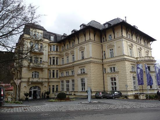 Marianske Lazne, República Tcheca: Frontansicht
