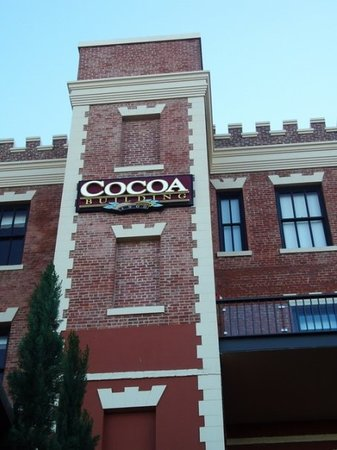 Ghirardelli Square, once home to the world-famous chocolate factory, has been renovated to an op