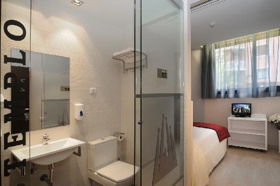 Hostemplo Sagrada Familia: habitación individual