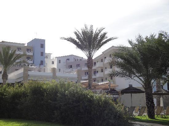 St. George Gardens Hotel Suites : Batiments vus du jardin