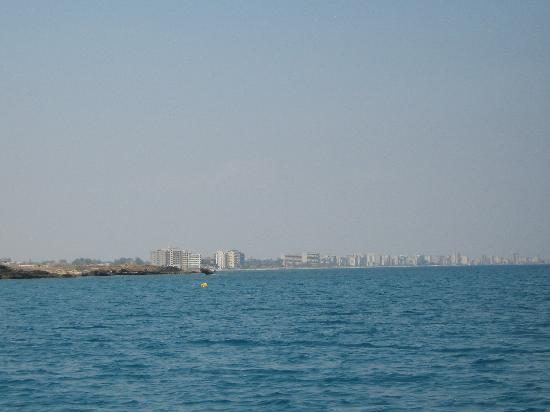 Malama Beach Holiday Village: view from pedlow at famagusta ghost town