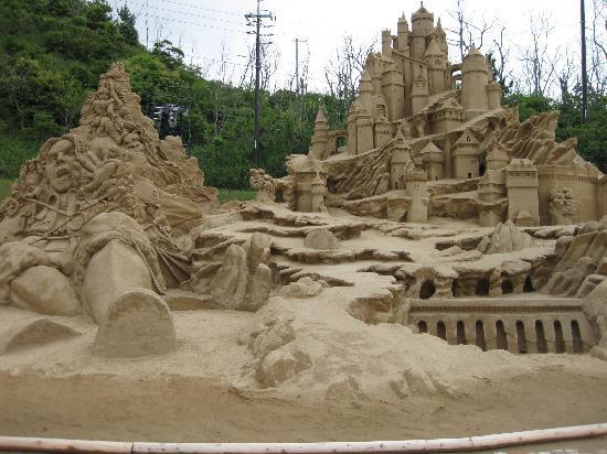 鳥取砂丘, 砂像フェスティバル!砂とは思えません