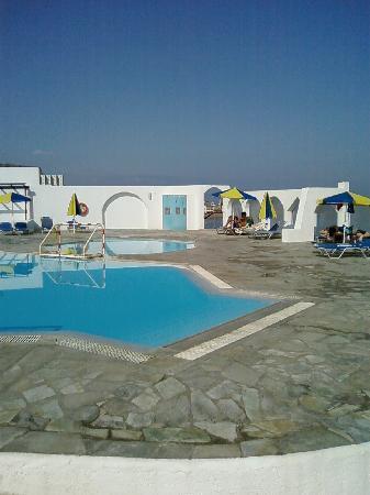 Hotel Knossos : Piscine