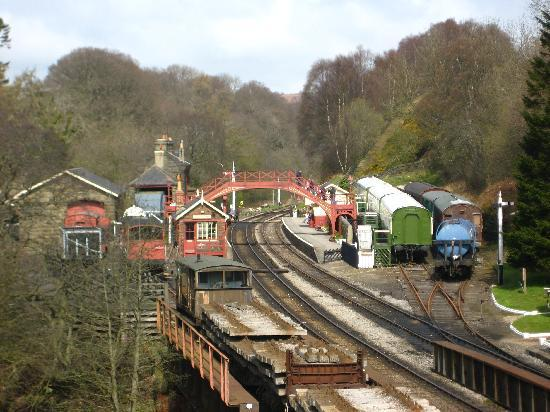 Goathland train station harry potter picture of for Glendale house