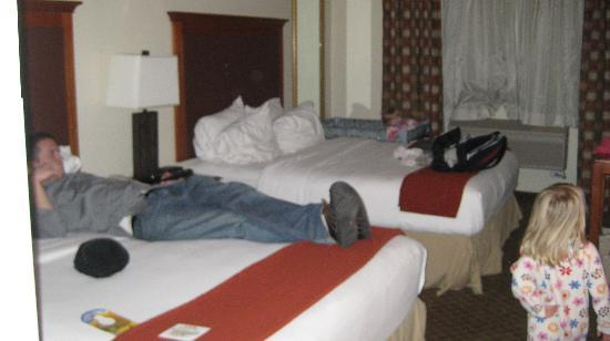Holiday Inn Express Park City: 2 queen beds (small space)