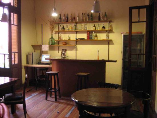 Hostal El Candil: salle p'tit déj