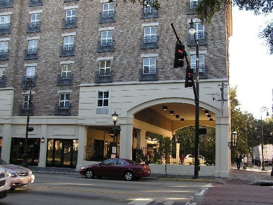 Hampton Inn On Bay Street Picture Of Hampton Inn Savannah
