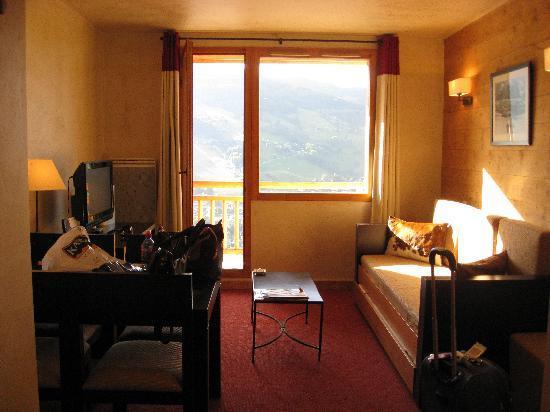 Hotel L'Arboisie: living room