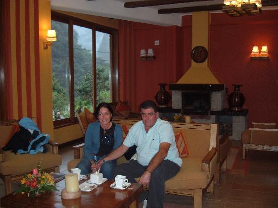 SUMAQ Machu Picchu Hotel : cuando llegamos
