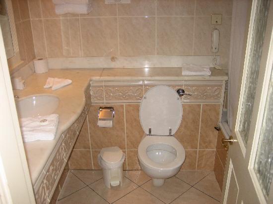 Arbutus Hotel: bathroom in single suite