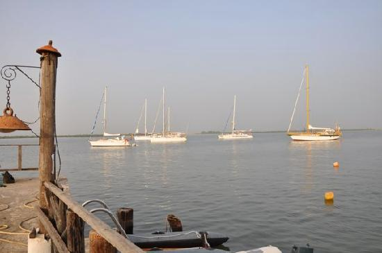 Ziguinchor, Senegal: Pier