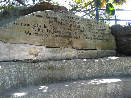 Mrs Macquarie's Chair